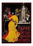 Caffe Espresso Pósters