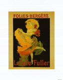 Folies Bergere Prints by Jules Chéret