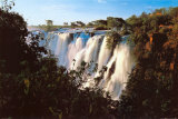 Waterfall, Victoria Falls Posters