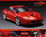 Ferrari 575 Posters