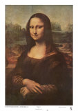 Mona Lisa, c.1507 Plakater af Leonardo da Vinci,