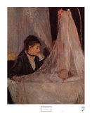 The Cradle Prints by Berthe Morisot