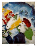 Peasant Life, 1925 Poster by Marc Chagall
