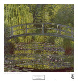 Bassin aux Nympheas Art by Claude Monet
