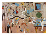 Carnival of Harlequin Prints by Joan Miró