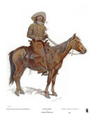 Arizona Cowboy Art by Frederic Sackrider Remington