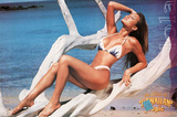Swimsuit Pin-Up, Girls of Hawaiian Tropic, Lola, Photo Print Poster Print
