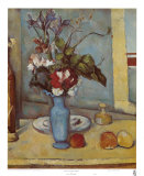 Blue Vase Art by Paul Cézanne