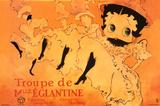 Betty Boop Movie (Troupe de Mlle. Eglantine) Poster Print - Posterler