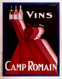 Le Vins de Camp Romain Prints