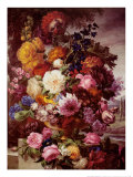 Grandmother's Bouquet II Prints by Joseph Nigg