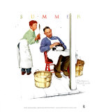 Swatter's Rights Prints by Norman Rockwell