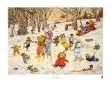 Las hazañas de los osos en el hielo Láminas por Susan Anderson