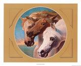 Caballos faraón Láminas por John Frederick Herring I