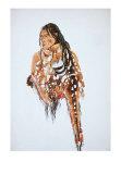 Ihkas-Kinne, Siksika Blackfeet Chief Poster by Karl Bodmer