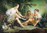 Diane au retour de la chasse Posters par Francois Boucher