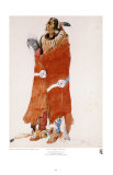 Mahchsi-Karehde, Mandan Man Prints by Karl Bodmer