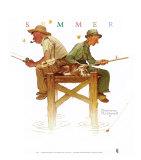 Journées de détente Posters par Norman Rockwell