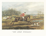 Get Away Forrard Prints by T. N. H. Walsh