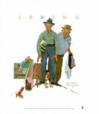 Sweet Surprise Prints by Norman Rockwell