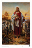 The Good Shepherd Poster by Bernhard Plockhorst