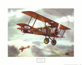 Sopwith Camel, 1917 Plakat autor Alfred Owles