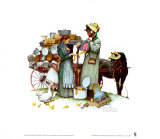 Country Pedlar Prints by Norman Rockwell