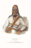 Yoholo-Micco, a Creek Chief Art by  McKenney & Hall