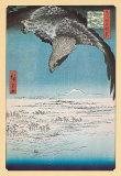 Adler (Distrikt Fukagama) Poster von Ando Hiroshige