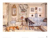 Cozy Corner Prints by Carl Larsson