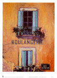 Boulangerie Poster by Karel Burrows