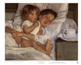 Breakfast in Bed Prints by Mary Cassatt
