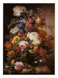 Grandmother's Bouquet I Prints by Joseph Nigg