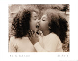 Sisters Prints by Kelly Johnson