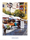Cours Saleya Prints by Barbara McCann