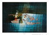 Sinbad the Sailor Print by Paul Klee