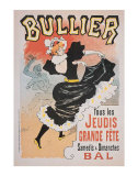 Bullier Print by Georges Meunier