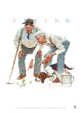Shared Success Affiches par Norman Rockwell