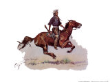 Crow Scout Print by Frederic Sackrider Remington