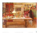 Getting Ready for a Game, 1901 Posters by Carl Larsson