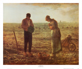 Angelus Print by Jean-Fran&#231;ois Millet