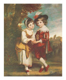 The Young Fortune Teller Print by Joshua Reynolds
