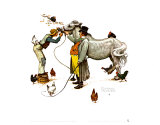 Horse Trader Prints by Norman Rockwell