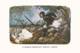 Double-Barreled Breech-Loader Print by  Currier & Ives