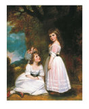 The Beckford Children Print by George Romney