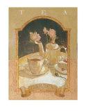 Tea Garden Prints by Thomas LaDuke
