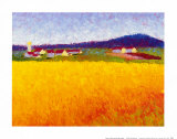 Fields of Gold Posters by Gail Wells-Hess