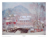 Sandvicken, Norway Poster by Claude Monet