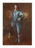 Ragazzo blu Poster di Gainsborough, Thomas