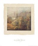 Garden Palms I Prints by Nicolette Jelen